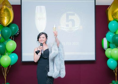 A toast to all our Core Supporters!